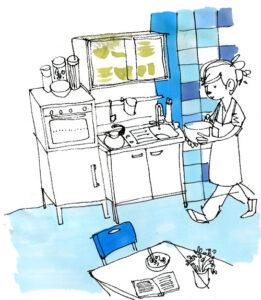 fermenta. dibujos y cosas